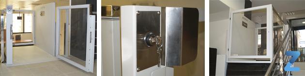 Salvaescaleras elevador vertical izaro de zubir for Salvaescaleras vertical